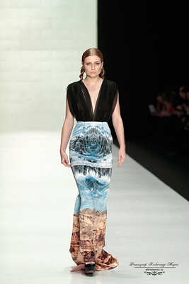 Kamila Kurbani Mercedes-Benz Fashion Week Russia