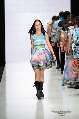 Kamila Kurbani Mercedes-Benz Fashion Week Russia
