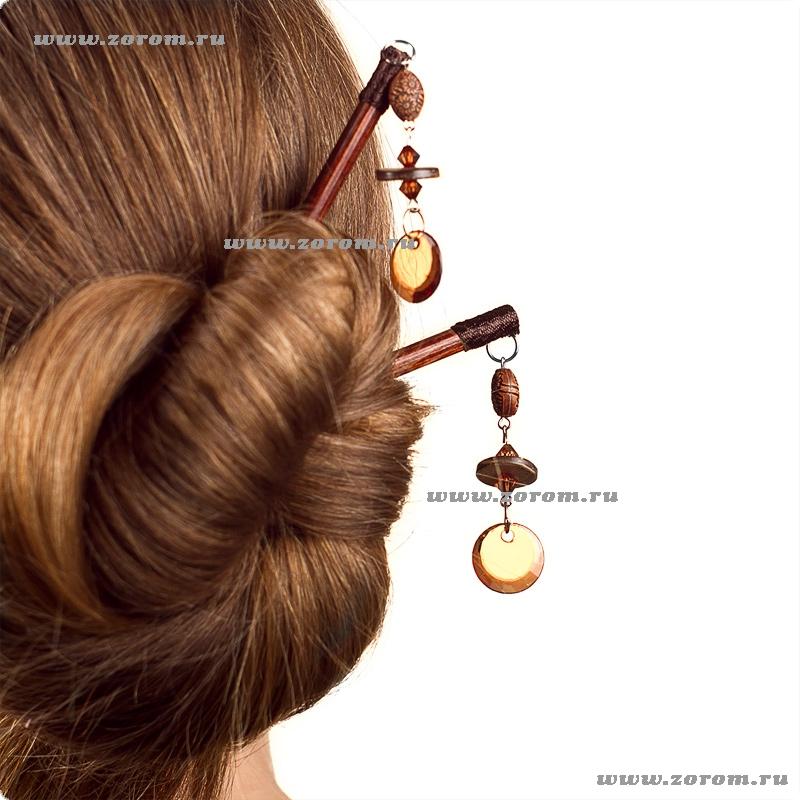 Заколка китайская для волос палочка
